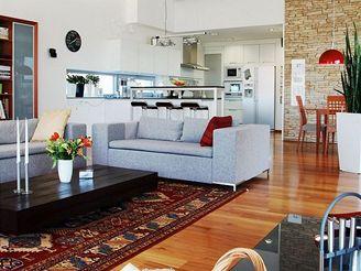 Moderní dům pro mladou rodinu