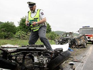 Vážná nehoda v Kuřimi na Brněnsku