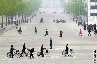 Pchjongjang, hlavní město KLDR
