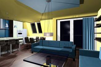 Obytný areál Na zelené louce - mezonetový byt