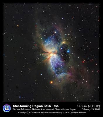 2000 sv. roků od nás v souhvězdí Labutě leží oblast s mnoha hnědými trpaslíky