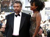 MFF Cannes - francouzský režisér Luc Besson s manželkou Virgine Sillou