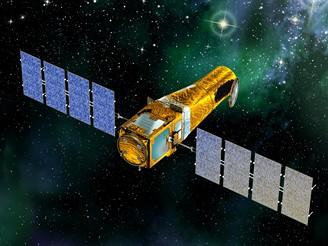 Družice COROT na dráze