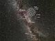Mléčná dráha v Labuti s pokrytím fotometrem Kepler