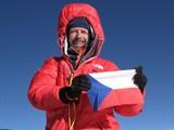 Pavel Bém na vrcholku Mount Everestu