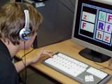 Speciální klávesnice pro postižené v dětském centru ARPIDA