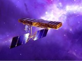 Ilustrace SIM ve vesmíru