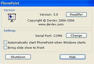 Program PhonePoint