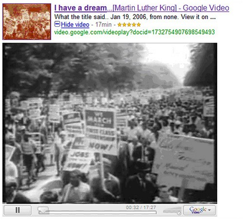 Google Universal - video
