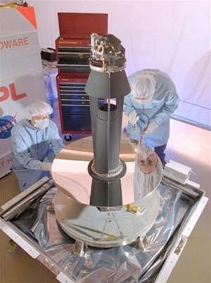 Spitzer 0,85m primátní zrcadlo z berylia