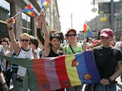 Pochod za práva homosexuálů v Moskvě