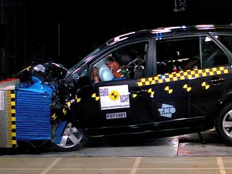 Crashtest KIa Carens