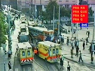 Nehoda tramvají