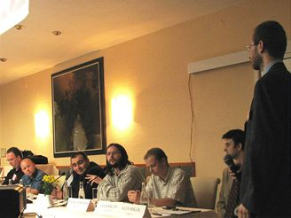 Panelová diskuze na konferenci Internet Video Forum 2007