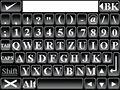Mobilnaut keyboard - fullscreen QWERTZ