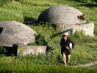Albánské bunkry z éry Envera Hodži