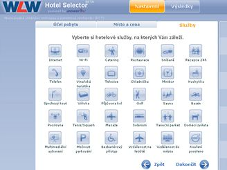 WLW Hotel Selector