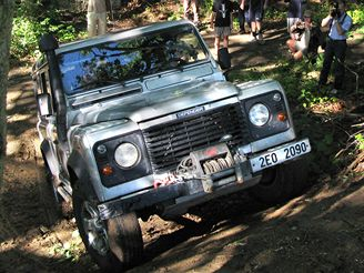 Sraz Land Roverů