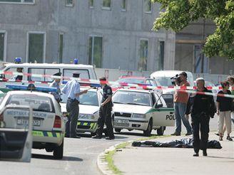 Vyšetřování střelby v Litoměřické