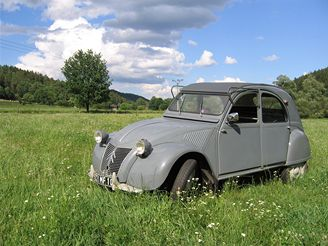 Citroën 2CV, 1958