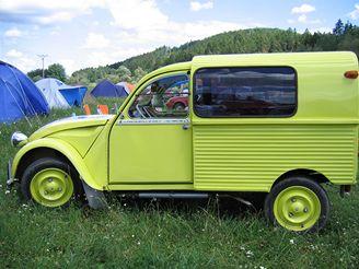 Citroën 2CV, Pick-up