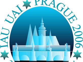 Logo sjezdu IAU v Praze