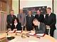 Podpis dohody o členství ČR v ESO