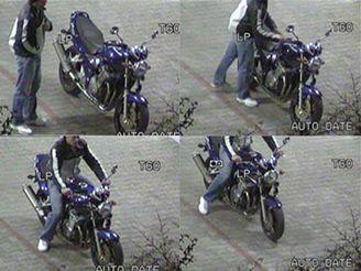 krádež Suzuki na videu