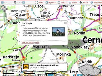 Karlštejn - obrázek a popisek (mapy.idnes.cz)