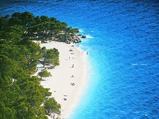 Chorvatsko, Brela, Punta Rata