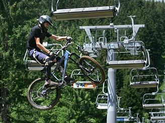 Bikepark na Špičáku