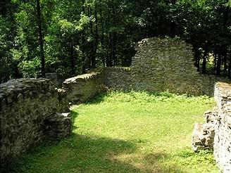 Kostel sv. Linharta v zaniklé vsi Obora