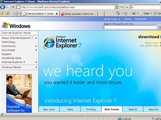 Microsoft Internet Explorer