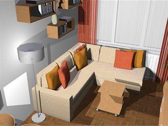 Malý byt pro tříčlennou rodinu