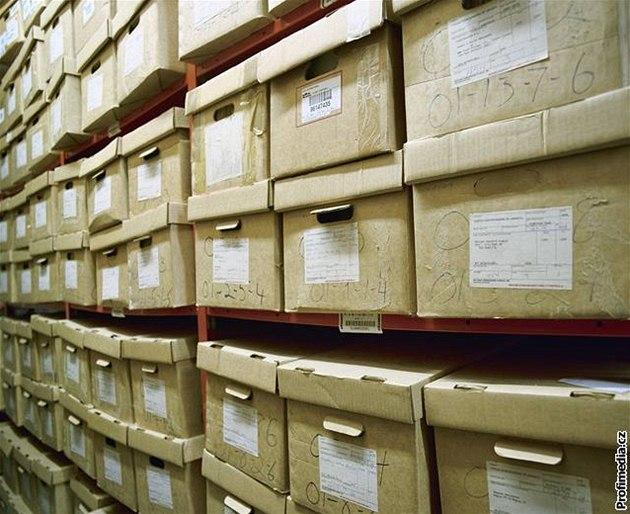 Archiv, dokumenty - ilustra�ní foto