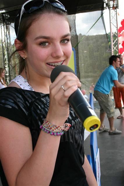 Ewa Farna na třetím ročníku ankety Jetix Kids Awards televizní stanice Jetix