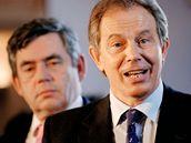 Gordon Brown. Mu� v pozad�