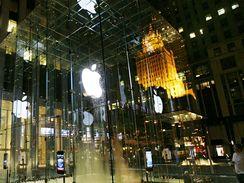 Apple store na Páté Avenue v New Yorku