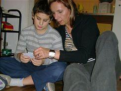 Marcela Krajníková se synem - Za dětmi v Argentině, červen 2007