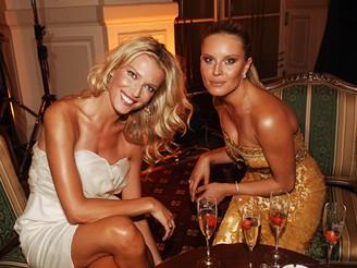 MFFKV - opening party - Veronika Vařeková a Simona Krainová