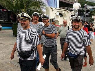 MFFKV - posádka recesistického křižníku Potěmkin