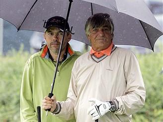 MFFKV - oficiální golfový turnaj festivalu - Marek Eben a Jiří Bartoška
