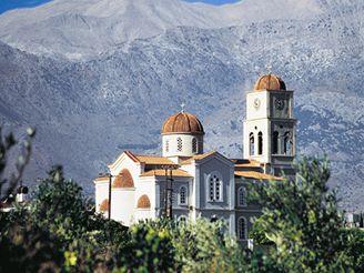 Kréta - řecký klášter