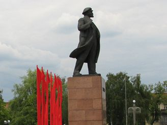 Vyzdobené město Hrodna
