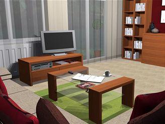 Jak zařídit obývací pokoj v třešni a vanilce