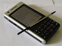 Sony Ericsson P1i (živě z Londýna)