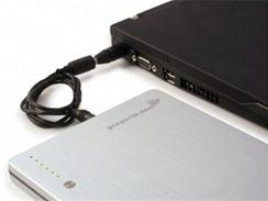 Cestovní akumulátor pro notebooky