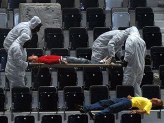 Ochrana 2007 - cvičení policie, vojáků a záchranářů v Liberci