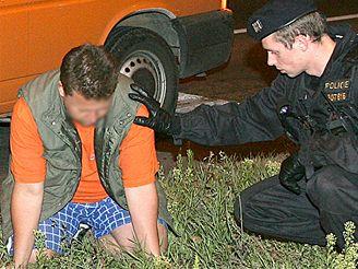 Opilý řidič