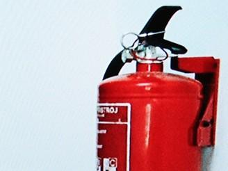hasicí přístroj Blu-ray